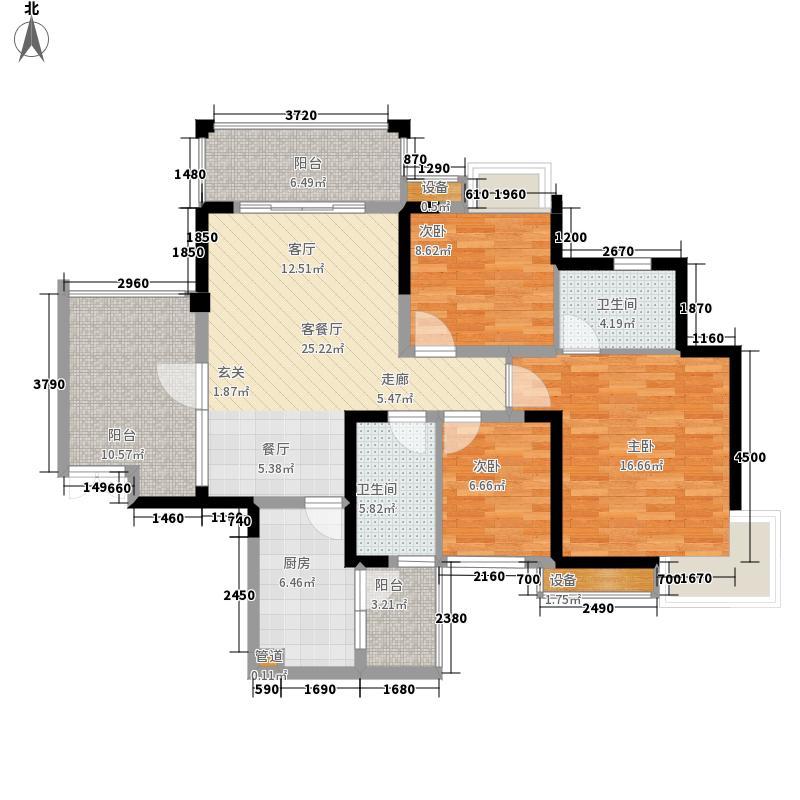 恒业星园114.00㎡楼王C-2型面积11400m户型