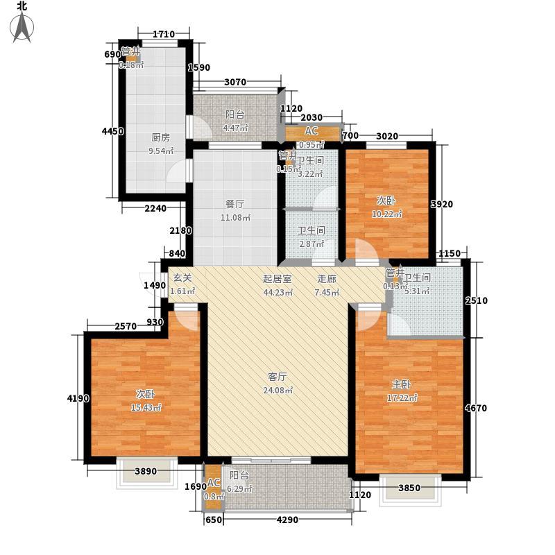 中央时区151.97㎡7号楼0面积15197m户型