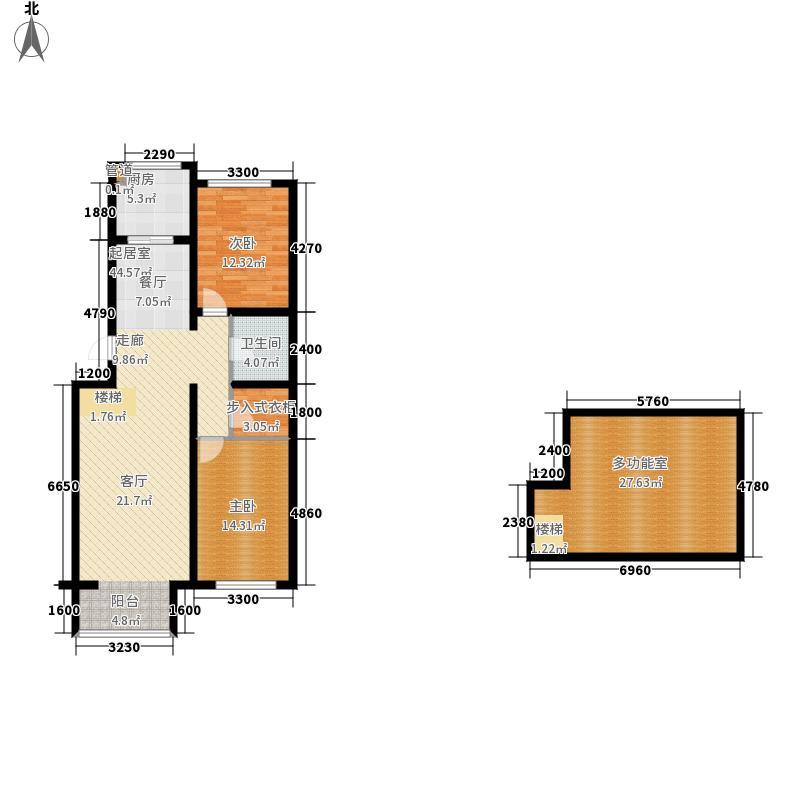 筑家筑家户型图两室两厅(4/4张)户型10室