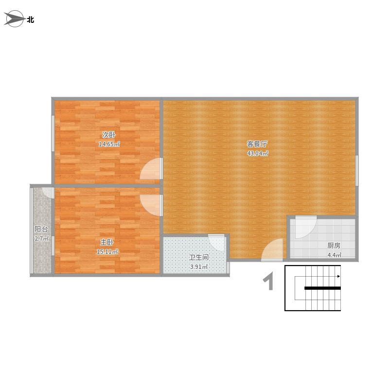 商院89平户型