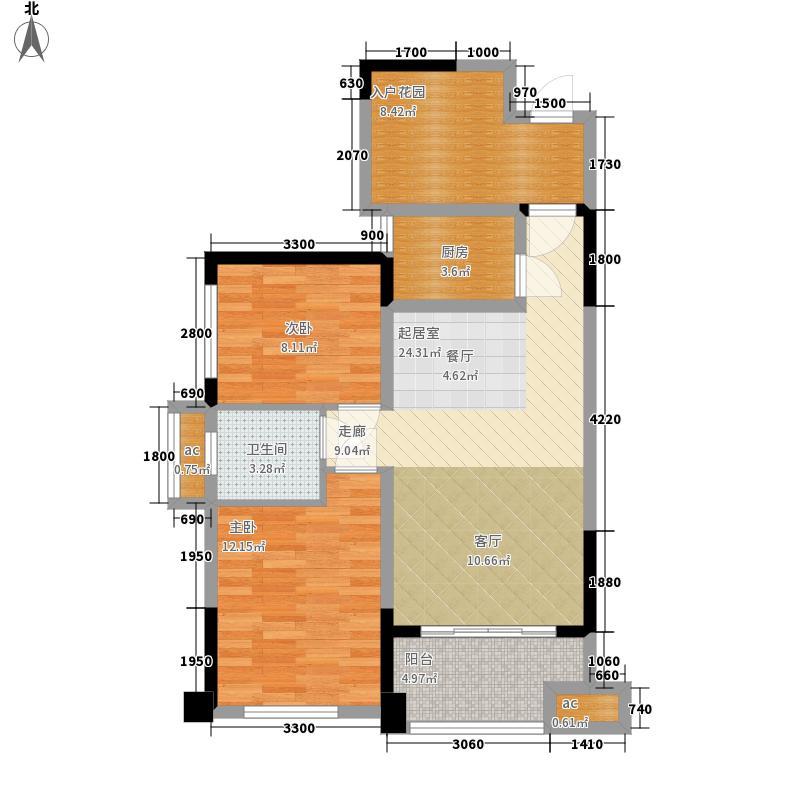 家和院81.00㎡3、4栋03户型