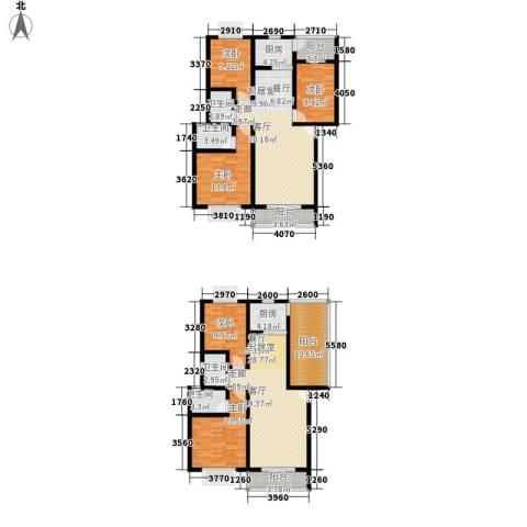 一米阳光美好家园5室0厅4卫2厨232.00㎡户型图