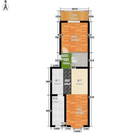 和平世家1室0厅0卫1厨75.00㎡户型图