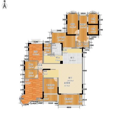 芙佳花园2室0厅0卫1厨291.00㎡户型图