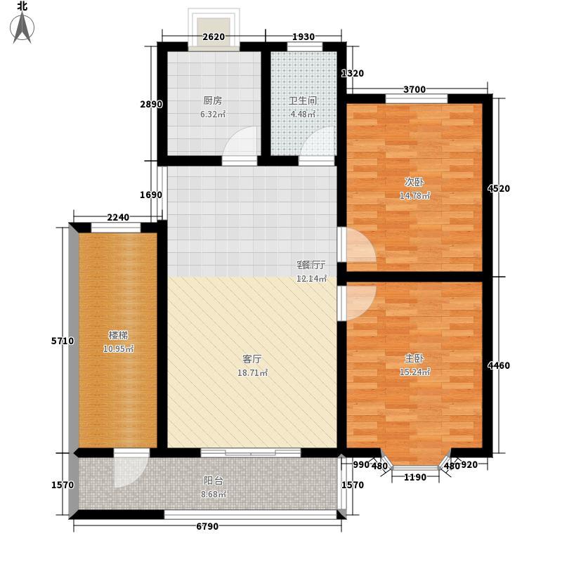 裕园大厦104.00㎡面积10400m户型