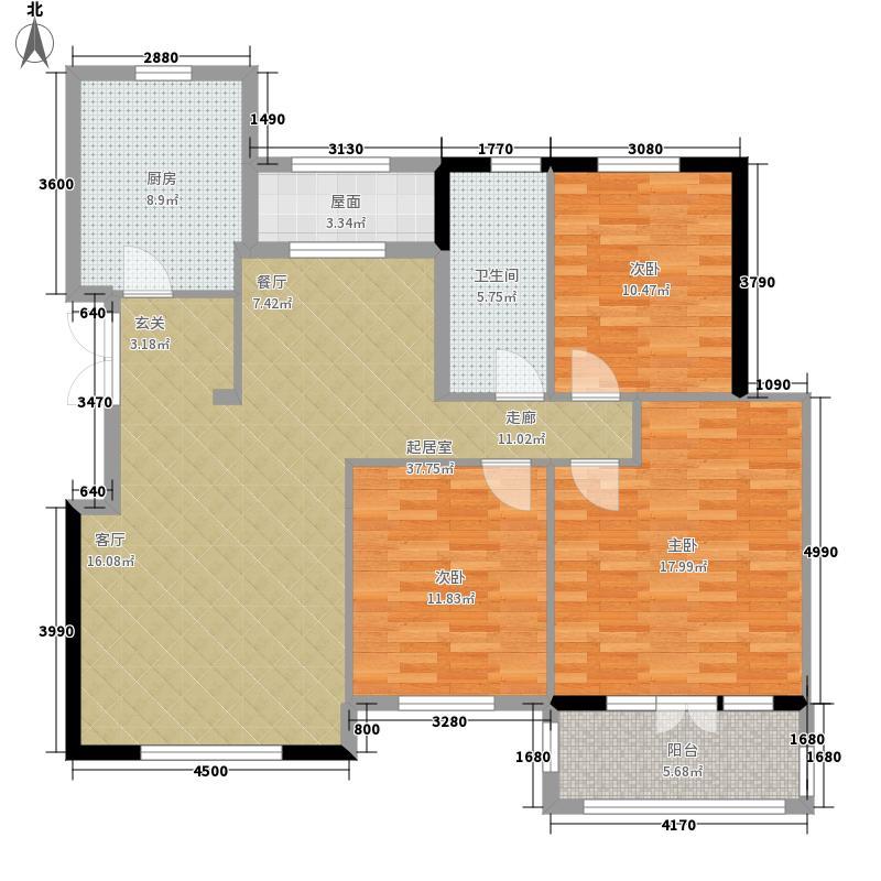 滨湖国际洋房7#楼G1户型