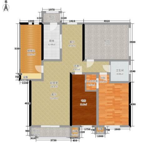 朝阳绿茵 朝阳上品2室0厅1卫1厨115.43㎡户型图