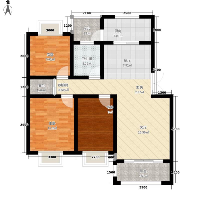 广信四季家园广信四季家园户型图(1/9张)户型10室