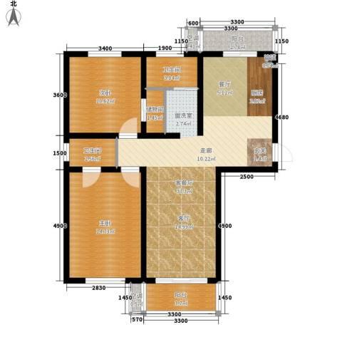 欣乐新村2室1厅2卫0厨112.00㎡户型图