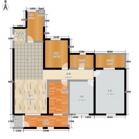 维明水湾4室0厅2卫1厨154.00㎡户型图