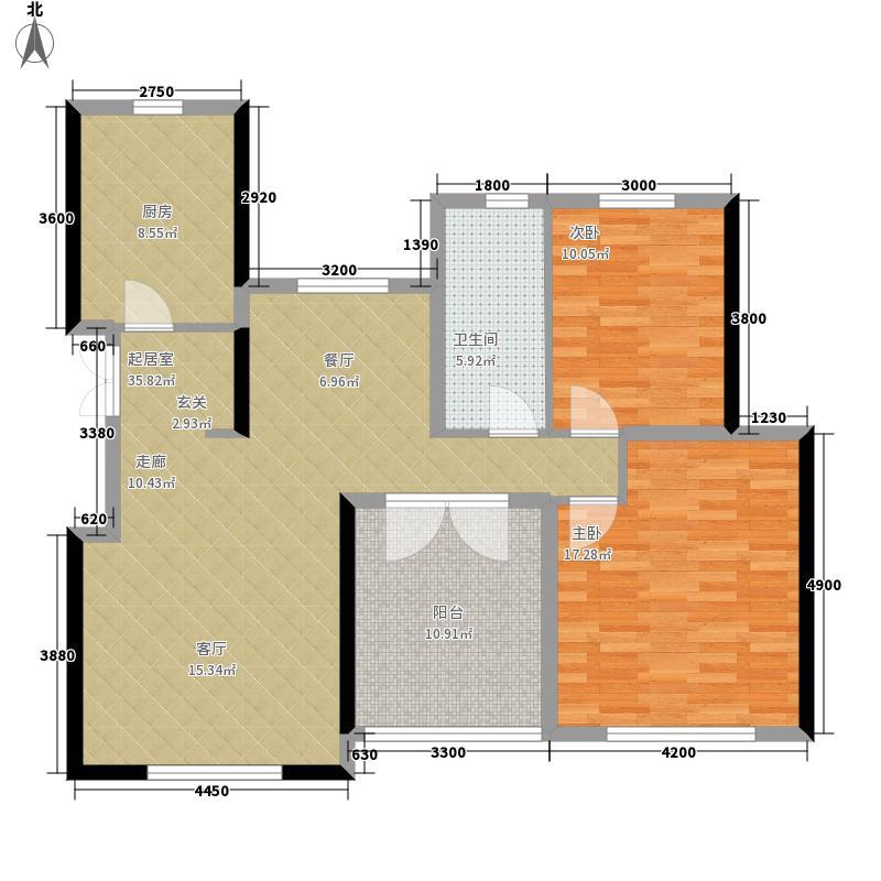 滨湖国际洋房1#和3#J1户型