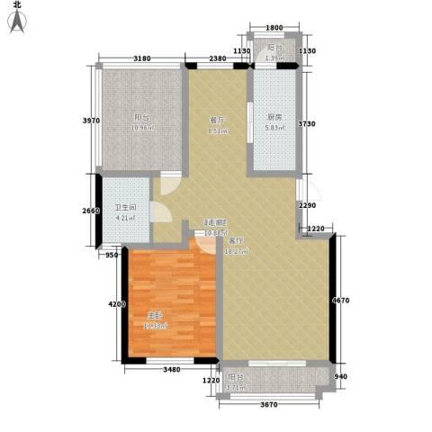 朝阳绿茵 朝阳上品1室0厅1卫1厨111.00㎡户型图