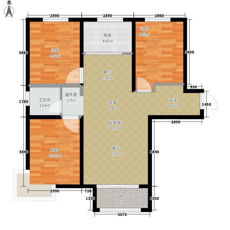 滨湖国际A2地块2号楼A户型