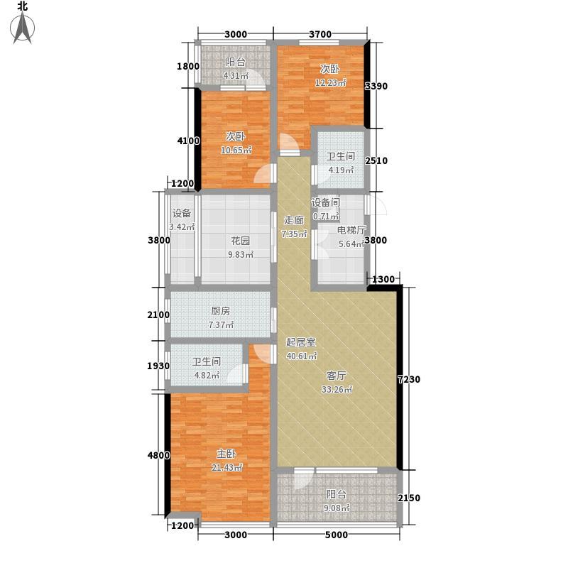 滨湖国际C1区洋房A1户型