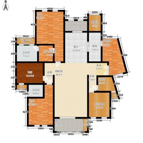 中隆国际御玺3室0厅3卫1厨237.00㎡户型图