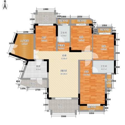 信基城3室0厅2卫1厨133.00㎡户型图