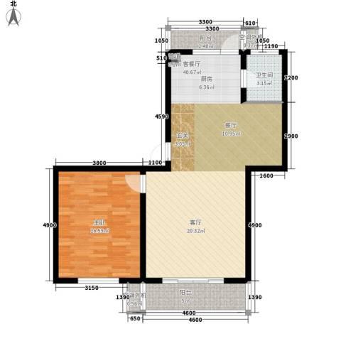 欣乐新村1室1厅1卫0厨98.00㎡户型图
