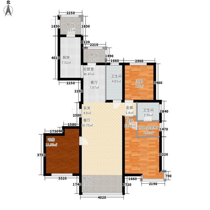 远大中央公园使用面积10438+户型3室2厅