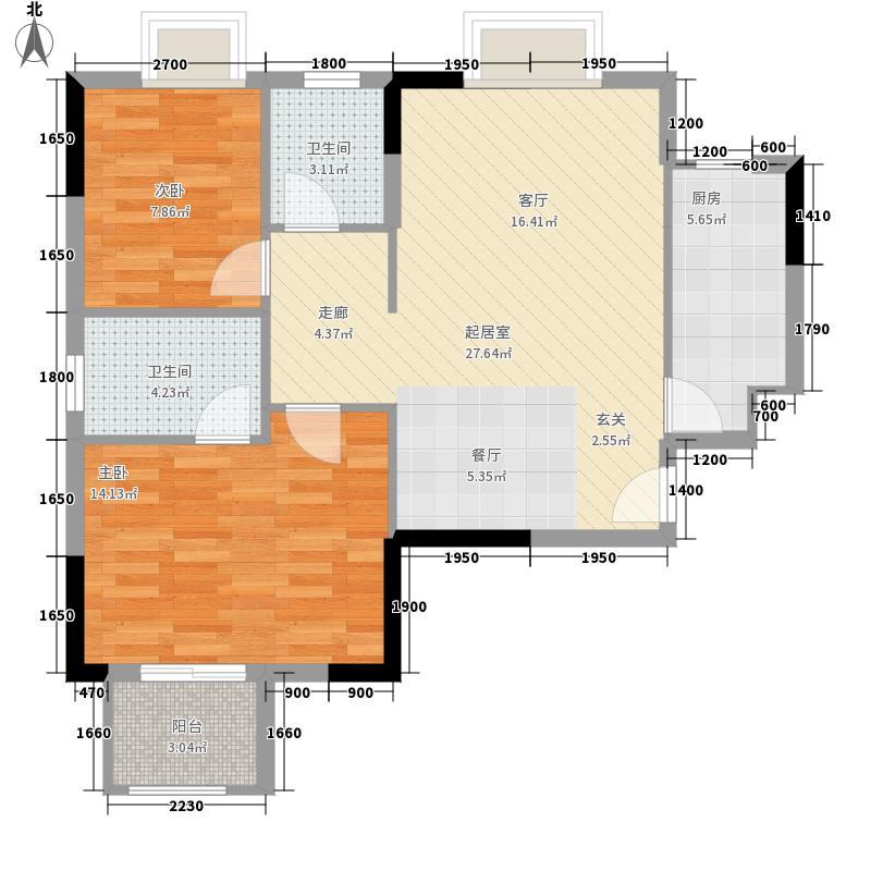 弘欣公寓户型