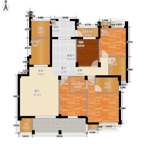 中海国际社区熙岸4室1厅0卫1厨136.00㎡户型图