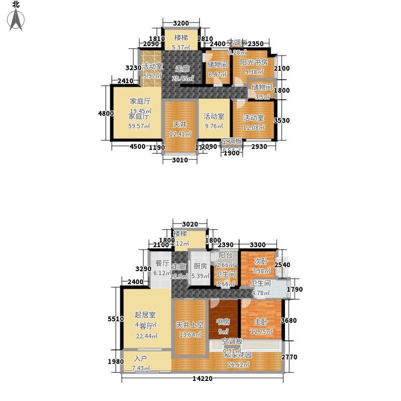 天府长城嘉南地246.68㎡J1复式7面积24668m户型