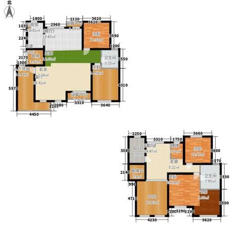 奥林匹克花园4室1厅2卫1厨241.39㎡户型图