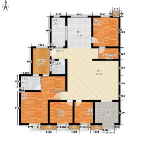 易水龙脉4室0厅2卫1厨172.01㎡户型图