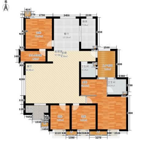 易水龙脉4室0厅2卫1厨164.43㎡户型图