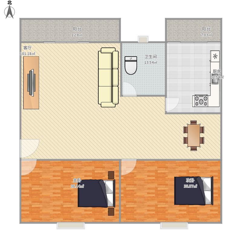二十小区2房
