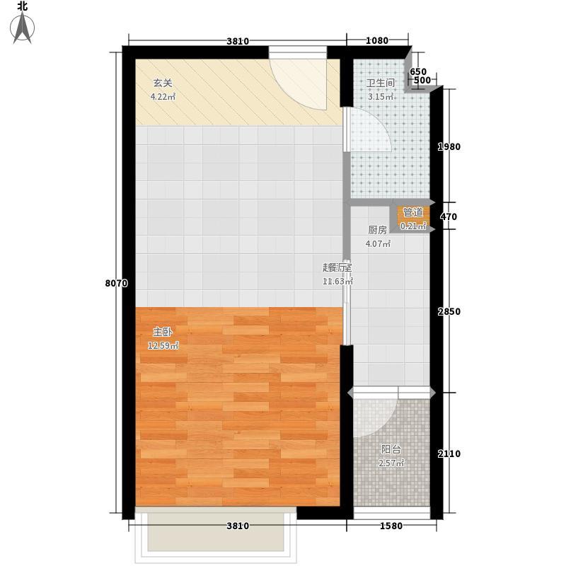 华强公寓F座公寓06户型