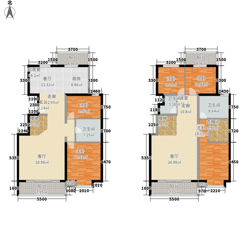 上东领海292.07㎡上东领海户型图(11/15张)户型10室