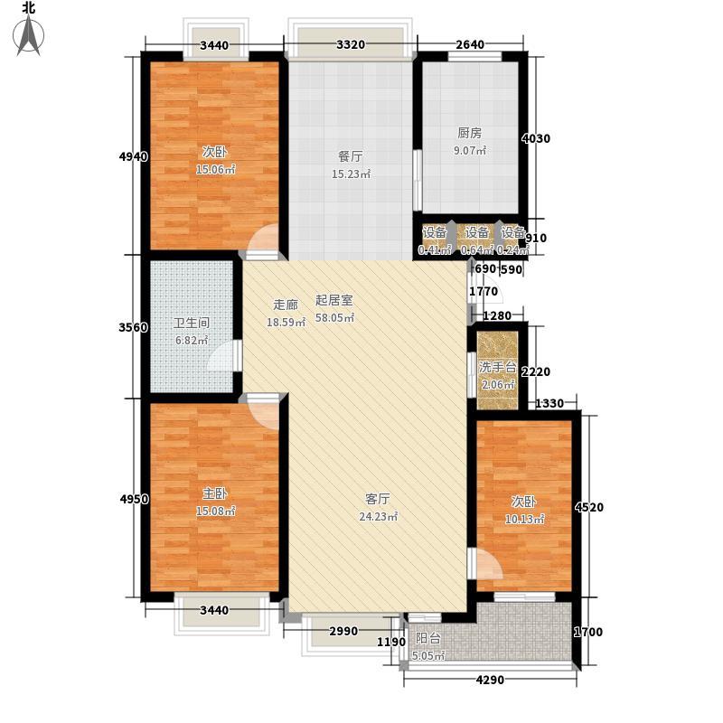 舒心园139.96㎡舒心园户型图(2/3张)户型3室2厅
