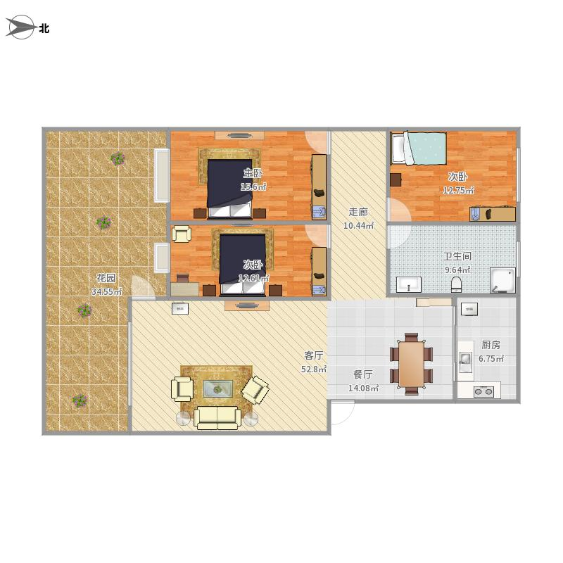 48号楼1楼西户