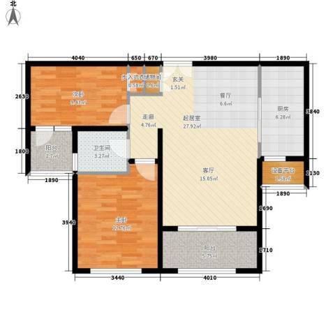 新公馆2室0厅1卫1厨99.00㎡户型图