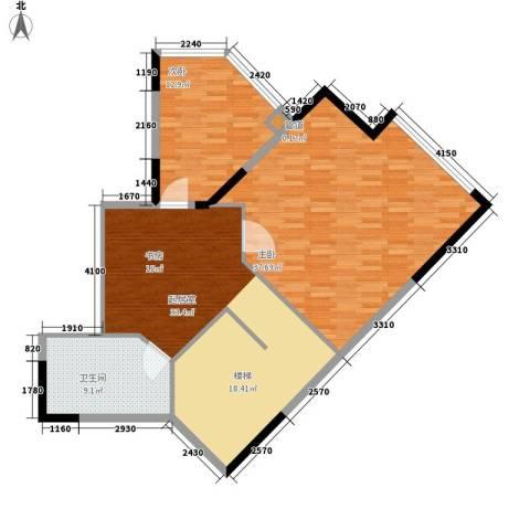 闽东国际城2室0厅1卫0厨188.00㎡户型图