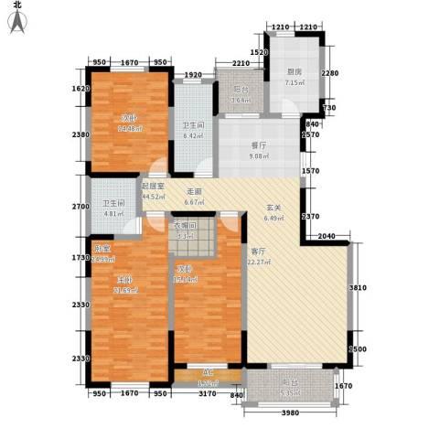 锦麟2室0厅2卫1厨171.00㎡户型图