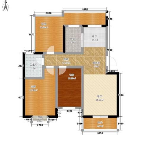 都市怡景2室0厅1卫1厨101.00㎡户型图