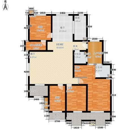 易水龙脉4室0厅2卫1厨188.57㎡户型图