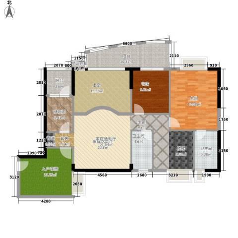 瑞安花园2室0厅2卫0厨241.00㎡户型图