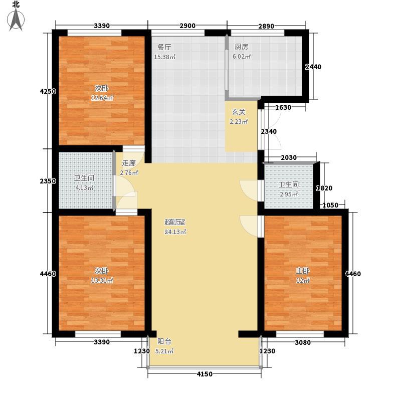 盛泰雅园126.00㎡盛泰雅园户型图D户型(3/6张)户型10室