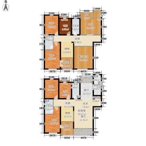 博仕名筑6室0厅4卫2厨302.00㎡户型图