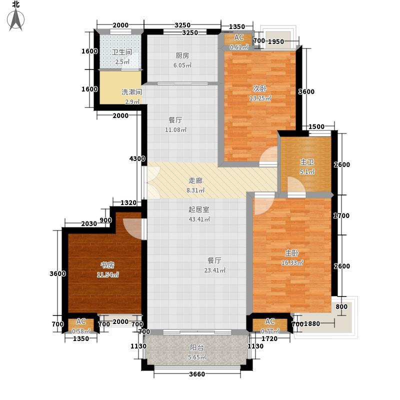 江佑铂庭139.00㎡二期7、11、14、面积13900m户型