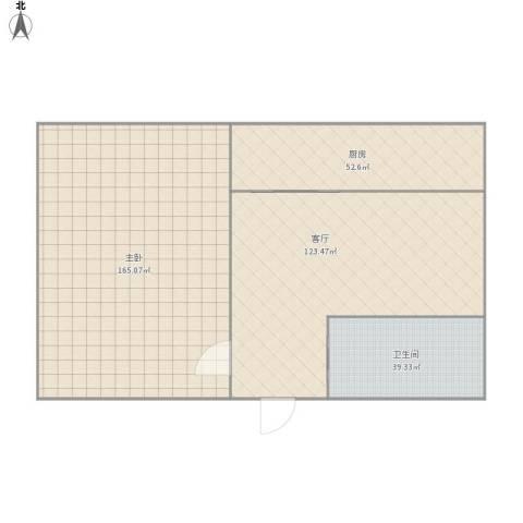 么么哒1室1厅1卫1厨488.00㎡户型图