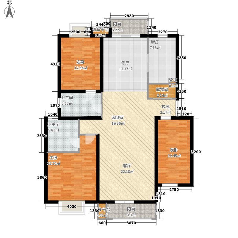 天山观澜豪庭139.95㎡面积13995m户型