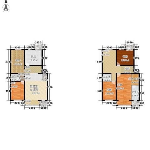 上林湾4室0厅3卫1厨236.00㎡户型图