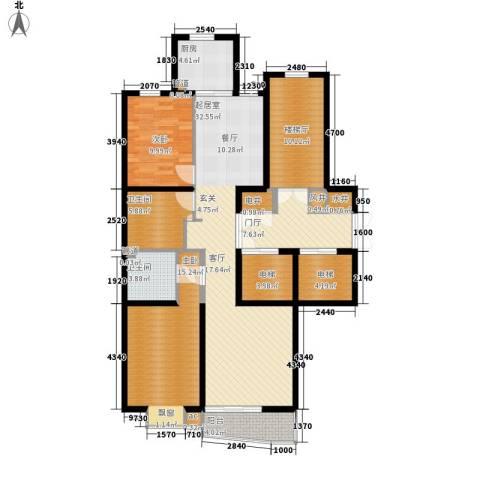 恩和家园2室0厅2卫1厨123.00㎡户型图