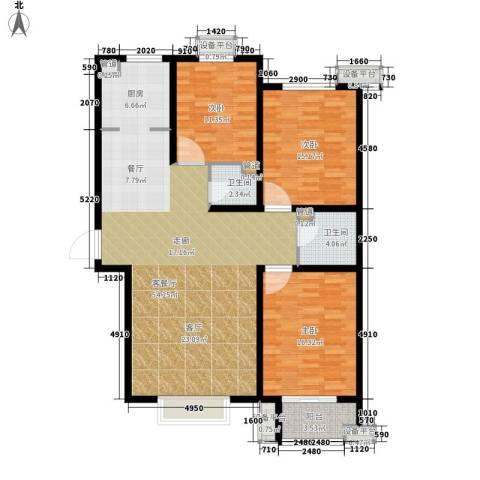 富源城3室1厅2卫0厨125.00㎡户型图
