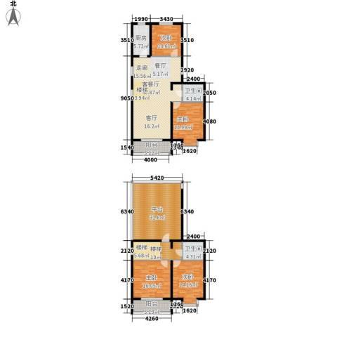 中阳信和水岸4室1厅2卫1厨161.81㎡户型图