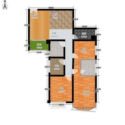 喜洋居1室1厅0卫1厨117.00㎡户型图