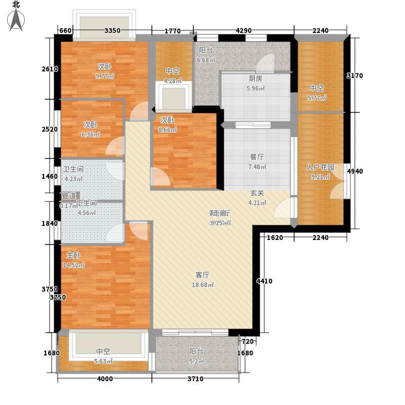 朱美拉公寓B栋03单位4-1户型
